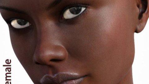 Genesis 3 Female Merchant Resource – Dark Skin