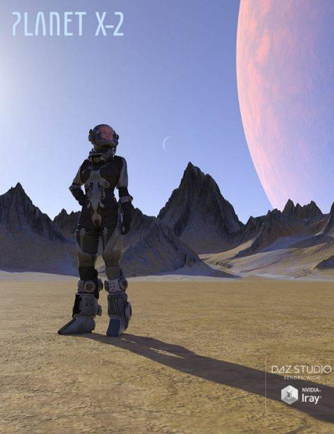 Planet X-2 and HDRI