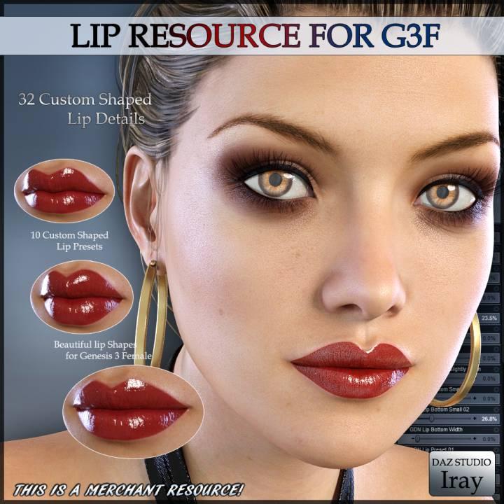 GDN Lip Resource G3F