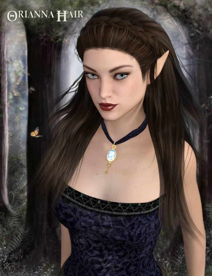 Orianna Hair for Genesis 3 Female(s)
