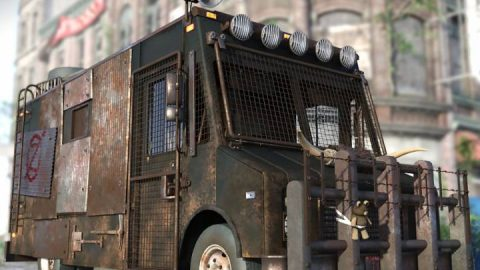 Step Van: Zombie Hunter