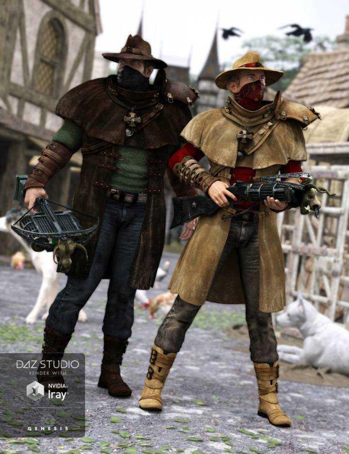Dragoh Outfit Textures