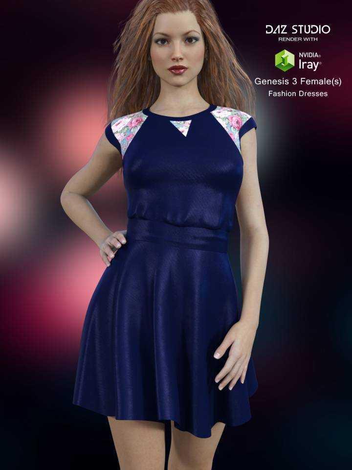 Fashion Dress for Genesis 3 Female(s)