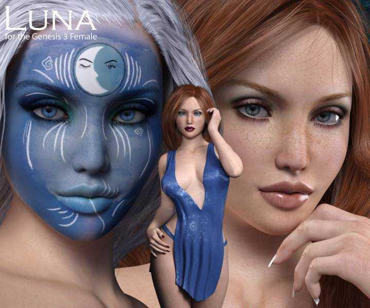 Luna for Genesis 3