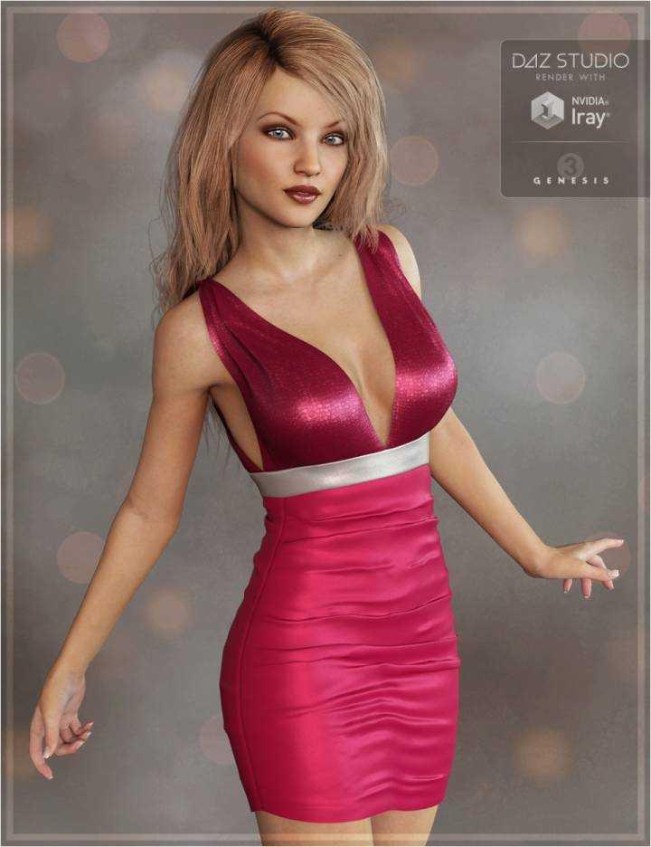 Club Dress for Genesis 3 Female(s)