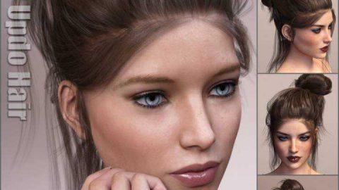 Everyday Updo Hair and OOT Hairblending 2.0 for Genesis 3 Female(s)