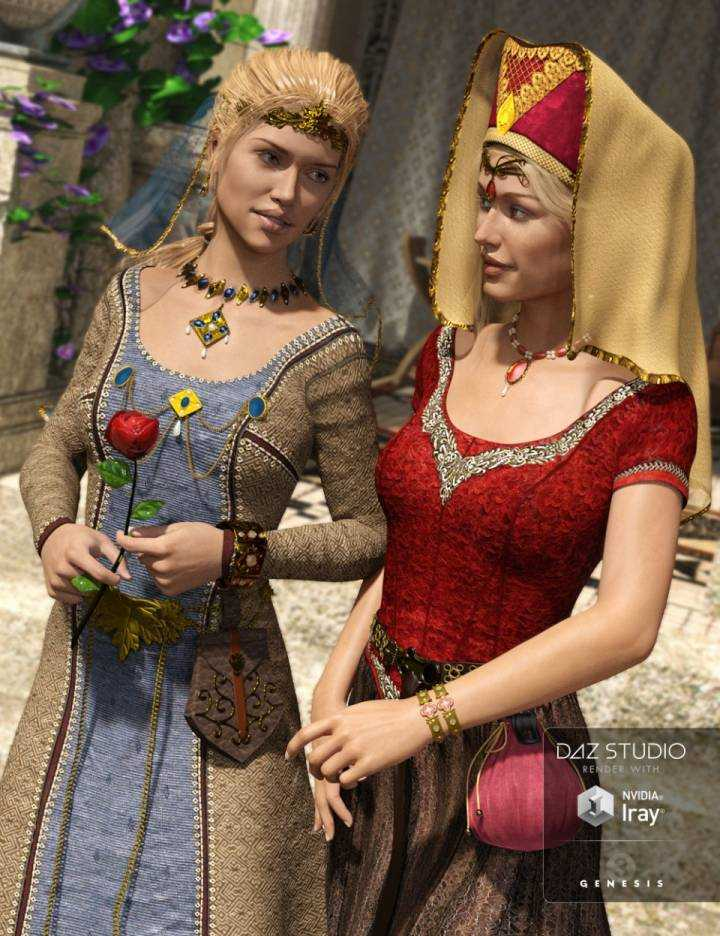 medieval-fantasy-accessories-for-genesis-3-females