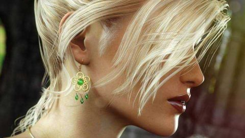 Date Night Hair for Genesis 3 Female(s)