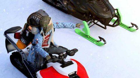 Performance Snowmobile