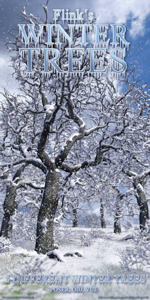 Flinks Winter Trees