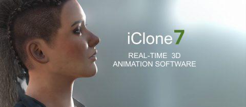ICLONE 7 3DXChange character creatori resourse pack