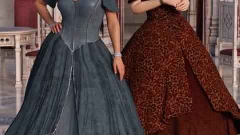 Princess Ensemble Textures