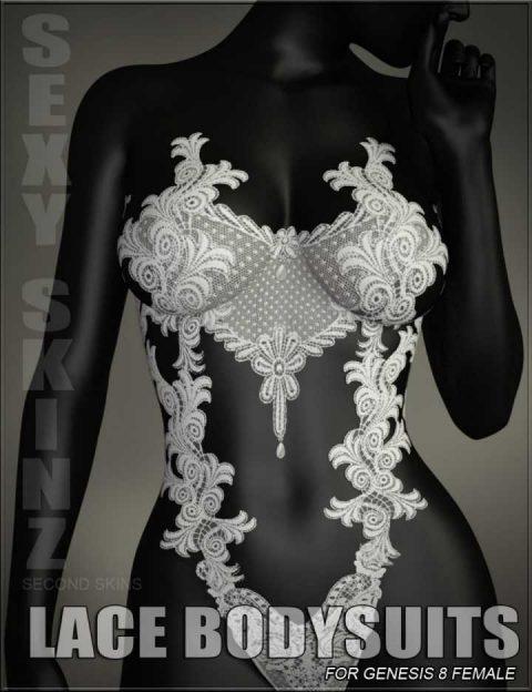 Sexy Skinz – Lace Bodysuits for Genesis 8 Female