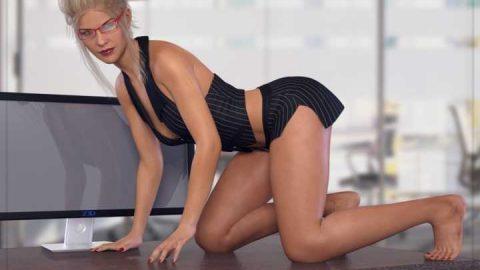 Z Sexy Secretary – Poses for Genesis 3 and Genesis 8 Female(s)