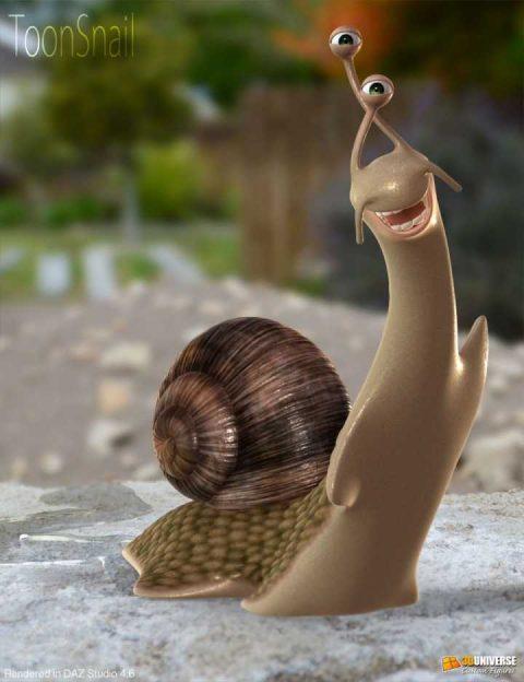 Toon Snail DAZ Studio Version