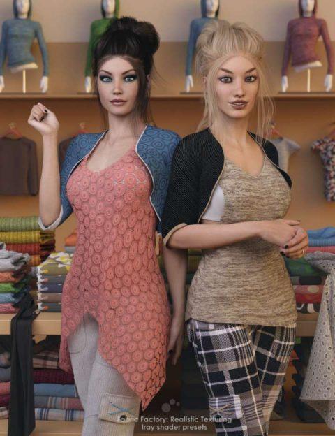 Fabric Factory: Realistic Texturing – Iray Shader Presets