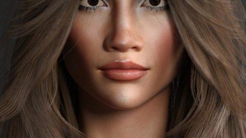Celebrity Series 09 for Genesis 3 and Genesis 8 Female
