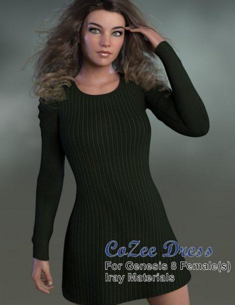 CoZee Dress for Genesis 8 Female(s)