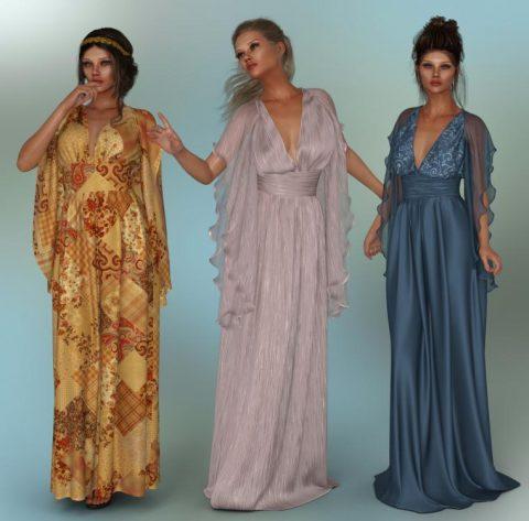 dForce – Lilium Dress for G8F