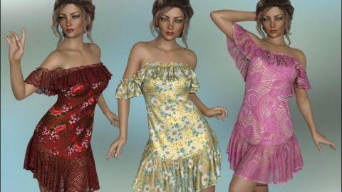 dForce – Octavia Dress for G8F