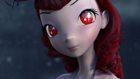 Dark Anime Eyes & Lashes for Star 2.0