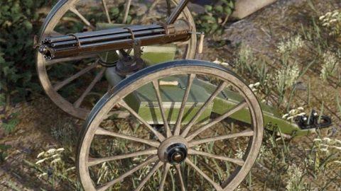 Historical Gatling Gun