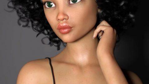 Africa for Genesis 8 Female