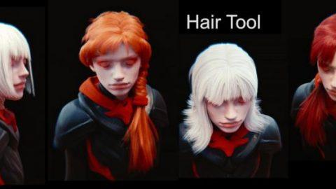 Hair Tool Blender 2.0.5