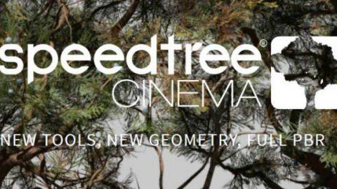 SpeedTree Modeler 8.2.1 Cinema Edition x64