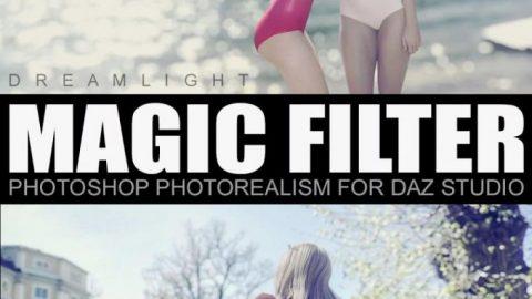 Magic Filter – Photoshop Photorealism for Daz Studio