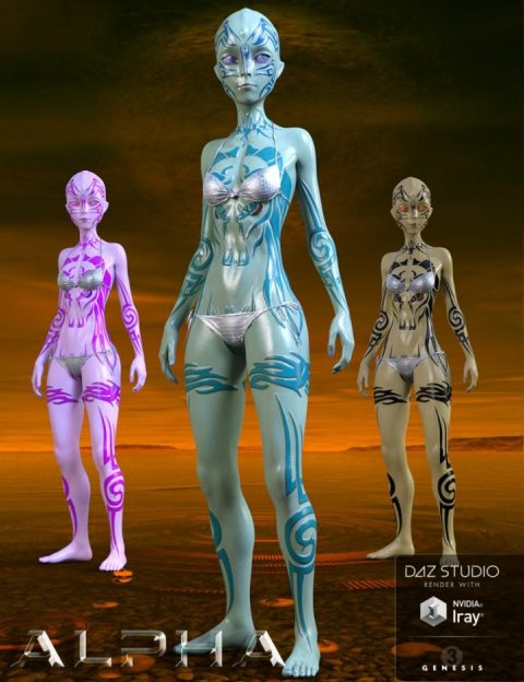 Alpha for Genesis 3 Female